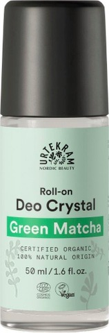 Urtekram luomu Green Matcha kristallideodorantti 50ml