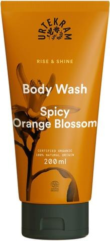 Urtekram Luomu Spicy Orange Blossom Suihkusaippua 200Ml