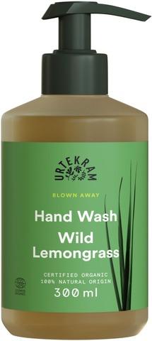 Urtekram Luomu Wild Lemongrass Nestesaippua 300Ml