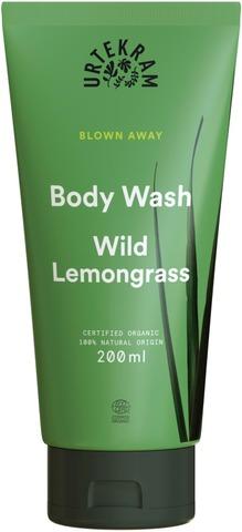 Urtekram Luomu Wild Lemongrass Suihkusaippua 200 Ml