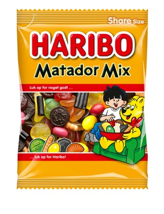 Haribo Matador Mix 275G Makeissekoitus