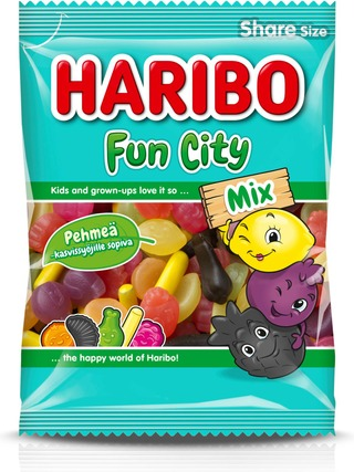 Haribo Fun City Mix 275 G Makeissekoitus
