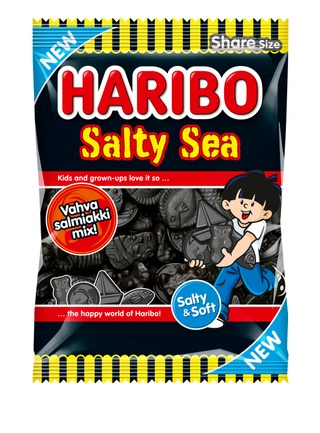 Haribo Salty Sea Salmiakki 170G