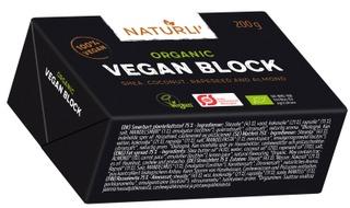 Naturli Vegaaninen Block Luomu Rasvaseos 200G