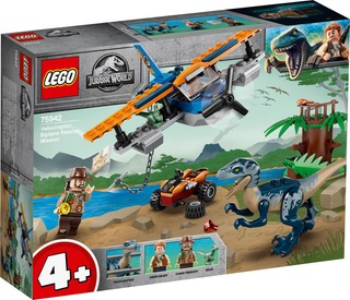75942 Velociraptor: Pelastusoperaatio Kaksitasolla Lego