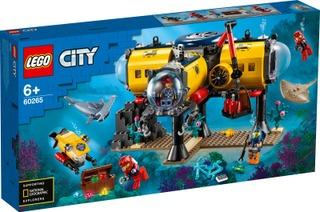 60265 Valtameren Tutkimustukikohta Lego