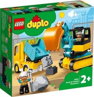 10931 Kuorma-Auto Ja Telakaivuri Lego