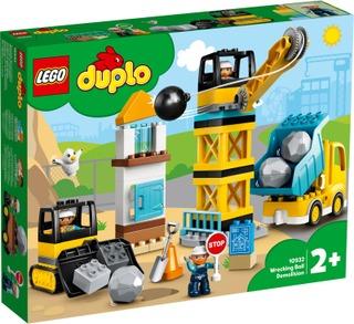 10932 Purkutyömaa Lego