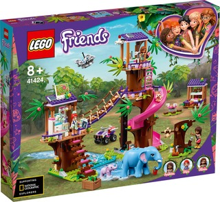 41424 Pelastusoperaation Viidakkotukikohta Lego