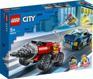 60273 Poliisin Valiojoukkojen Poraajan Takaa-Ajo Lego