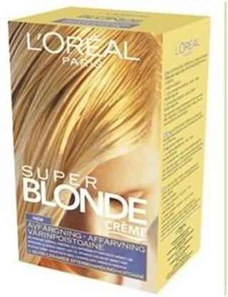 L'oréal Paris Super Blonde Crème Värinpoisto 1Kpl