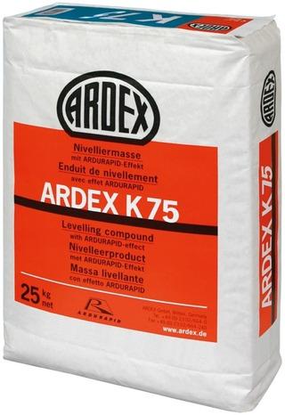 Ardex K 75, Oikaisumassa 25 Kg