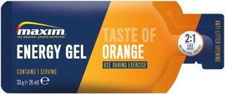 Maxim Energy Gel Orange Taste Appelsiininmakuinen Energiageeli 33G