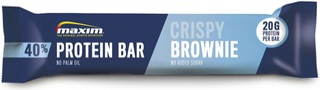 Maxim Crispy Brownie 40% Protein Bar Crispy Brownie Proteiinipatukka 50G