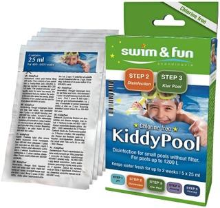 Swim & Fun KiddyPool puhdistuspussit klooriton