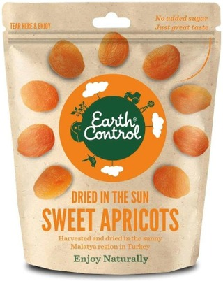 Earth Control,250G,Dried In The Sun - Apricots