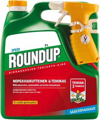 Roundup Speed 3L Rikkakasvien Torjunta-Aine Spray