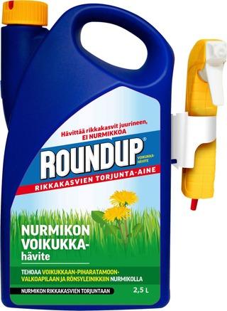 Roundup 2,5L Nurmikon Voikukkahävite