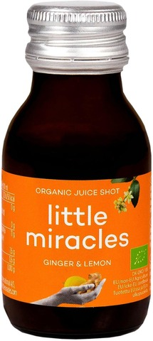 Little Miracles 60Ml Mehushotti Inkivääri-Sitruuna Luomu