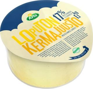 Arla Loputon 1,1Kg 17% Kermajuusto