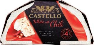 Castello White 150G With Red Chili Homejuusto