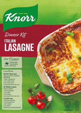Knorr Ateria-Aines Lasagne 262 G