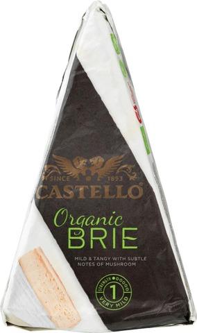 Castello Luomu Brie 150 G Valkohomejuusto