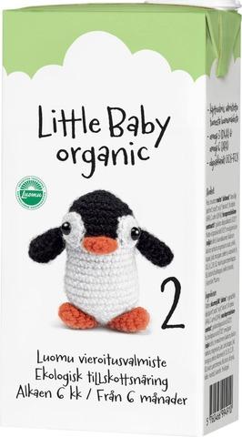 Arla Little Baby 2 500 Ml Luomu Uht Maitopohjainen Vieroitusvalmiste Käyttövalmis