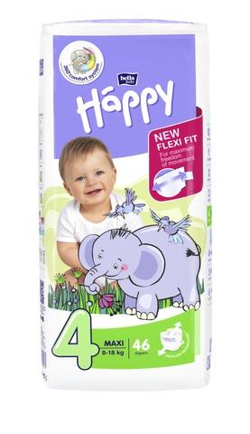 Happy Teippivaippa Maxi 8-18Kg 46Kpl