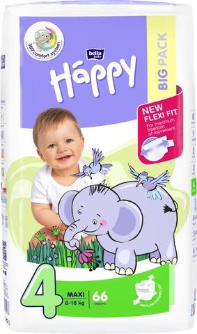 Happy Maxi Big Pack Teippivaippa 8-18Kg