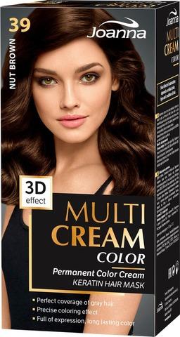Joanna Multi Color Cream Hiusväri 39 Nut Brown Permanent