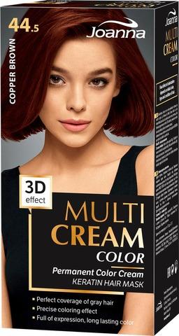 Joanna Multi Color Cream Hiusväri 44,5 Coper Brown Permanent