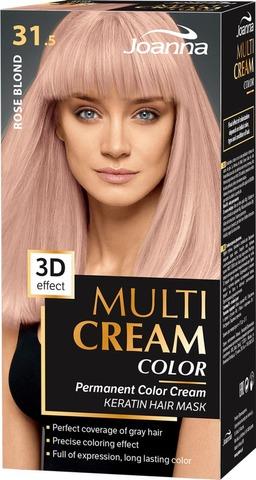 Joanna Multi Color Cream Hiusväri 31,5 Rose Blond Permanent