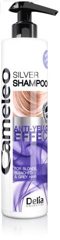 Delia Cameleo 250ml hopeashampoo vaaleaksi värjätyille hiuksille
