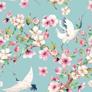 Simple Nature Tapetti Stork 274577