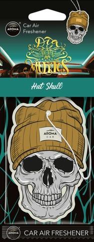 Aroma Car Air Freshener Cellulose Hat Skull