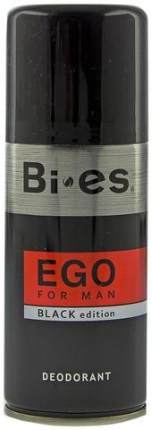 Bi-Es Men 150ml Ego Black Deodorant spray