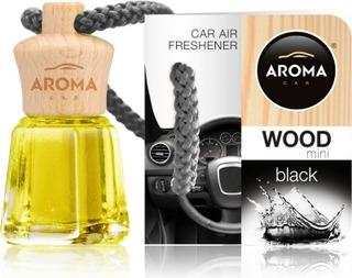 Aroma Ilmanraikastin Wood Black