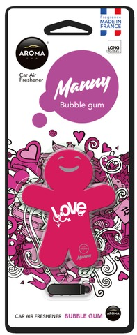 Aroma Ilmanraikastin Manny Bubble Gum