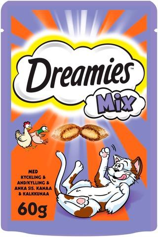 Dreamies Mix Kana & Ankka 60G