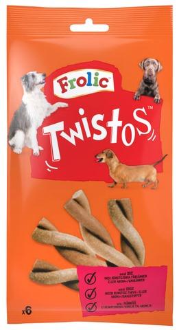 Frolic Twistos Härkää 105g