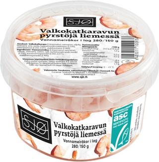 Sjø Valkokatkaravun Pyrstöjä Liemessä 280/150G Asc