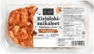 Sjø Kirjolohisuikaleet Pehmeän Pippurinen 300G