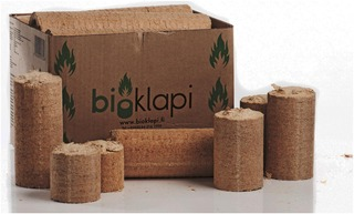 Bioklapi n.13kg puubriketti