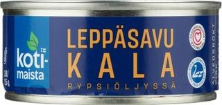 Kotimaista Leppäsavustetut Särkikalat Rypsiöljyssä 150 G/115 G