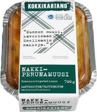 Kokkikartano 700g Nakkiperunamuusi valmisruoka