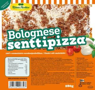 Riitan Herkku Senttipizza Bolognese 280G