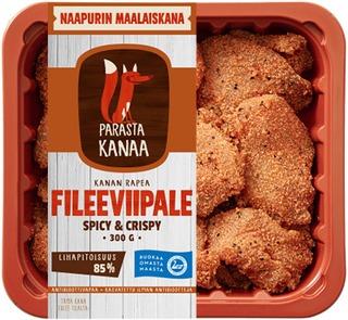 Naapurin Maalaiskanan fileeviipale spicy&crispy 300g