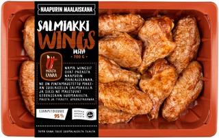 Naapurin Maalaiskanan wings, salmiakki 700g