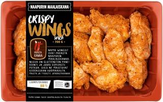 Naapurin Maalaiskanan wings, crispy 700g